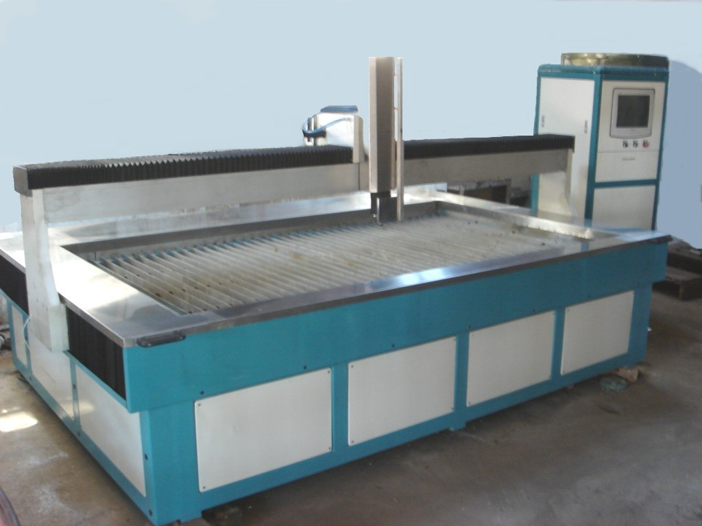 CNC cutting table of waterjet