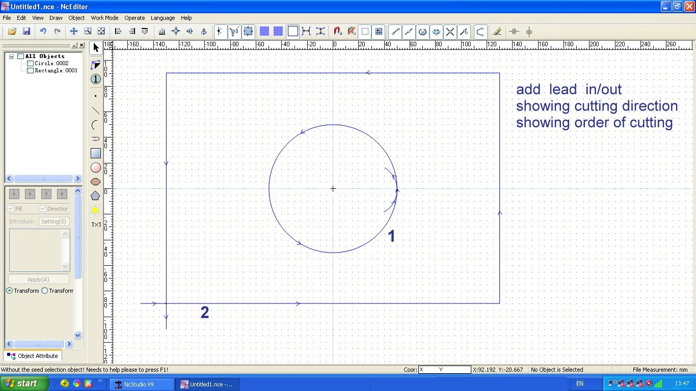 CAM software for waterjet